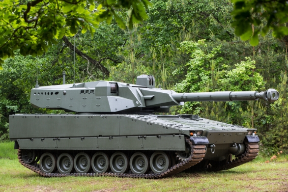 Foto: CV90105 / BAE Systems Hägglunds