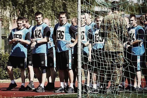 Foto: Voják musí (měl by být) v perfektní fyzické kondici. / Autor