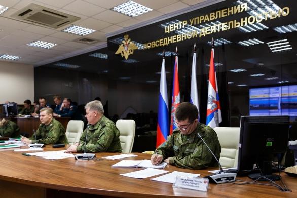 Foto: Veliící středisko cvičení Centrum 2015. / Ministerstvo obrany Ruské federace