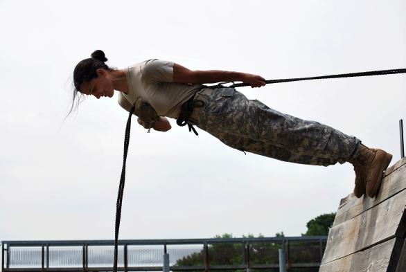 Cvičení voják