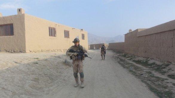 Český voják v Afghánistánu