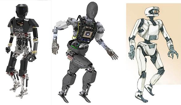 Foto: Cílem  DARPA Robotics Challenge je prozkoumat technologie nutné k vytvoření člověku podobných robotů. / DARPA