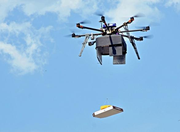 IED Drone, létající IED
