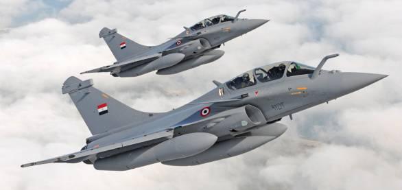 Foto: Egyptské stíhačky Rafale. / Dassault Aviation