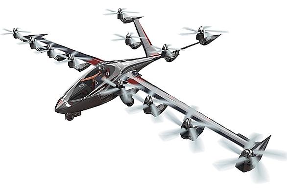 Osobní elektrické letadlo S2