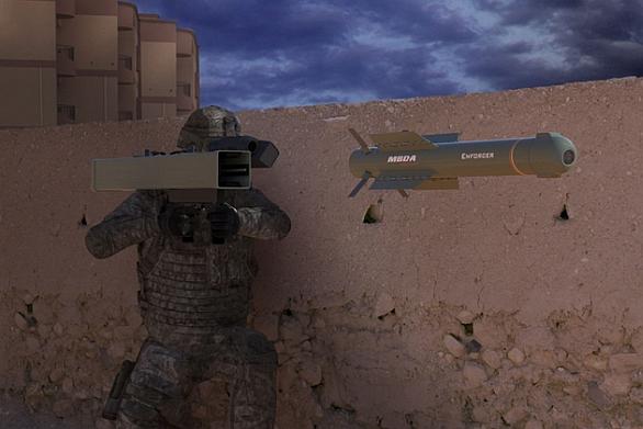 Foto: Vyvíjený systém Enforcer. / MBDA