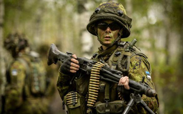 Foto: Estonský voják; ilustrační foto / Eesti Kaitsevägi