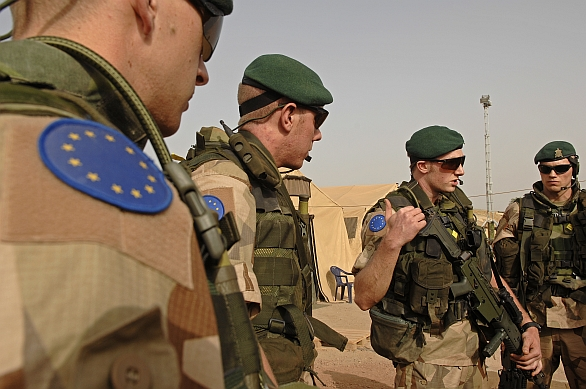 Evropští vojáci