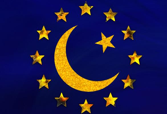 Foto: Evropská muslimská unie? / Grafika AN
