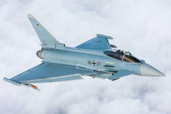 Foto: Jedním z kandidátů je evropský výkonný stíhač Eurofighter Typhoon nabízený konsorciem Eurofighter Jagdflugzeug GmbH; ilustrační foto / Eurofighter Jagdflugzeug GmbH