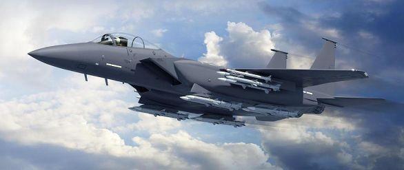 Foto: Potenciál stíhačky F-15 Eagle ještě není zdaleka vyčerpán. / Boeing