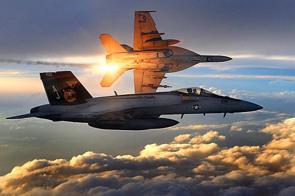 Foto: Stíhačka F/A-18E Super Hornet amerického námořnictva / US Navy