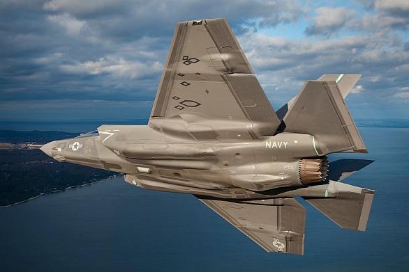Foto: F-35C Lightning II amerického námořnictva. Větší obrázek.  / US Navy