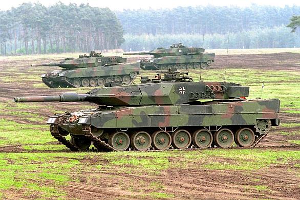 Německé leopardy 2