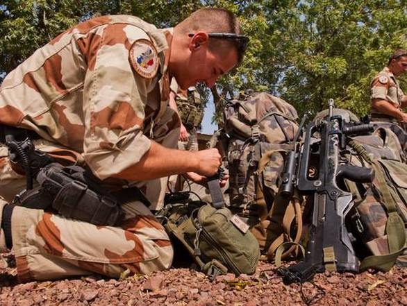 Foto: Francouzský voják v Mali; ilustrační foto / Defense.fr