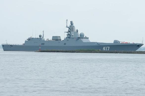 Foto: První fregata Admirál Gorškov. / Public Domain