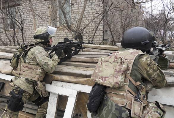 Foto: Příslušníci FSB při antiteroristické operaci na Kavkaze (2010); ilustrační foto / RIA Novosti, CC BY-SA 3.0