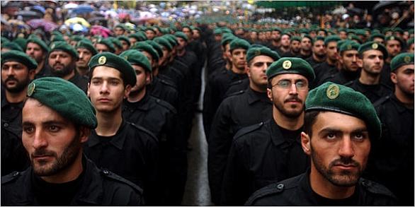 Foto: Bojovníci Hizballáhu; ilustrační foto / James Hill, The New York Times