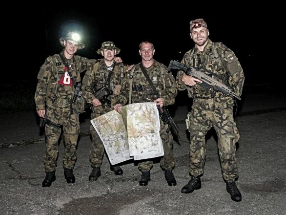 Soutěžní tým 153. ženijního praporu Olomouc