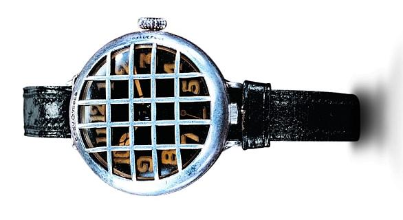 První náramkové hodinky vyrobené na objednávku císaře Viléma I, pro důstojníky německého císařského námořnictva – Girard-Perregaux