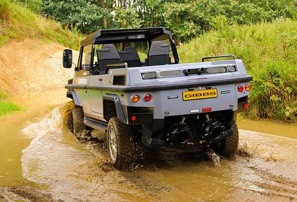 obojživelné vozidlo Humdinga