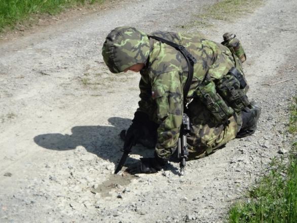 Foto: Výcvik roty Humint. / 102. pzpr