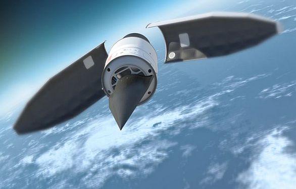 Foto: HTV-2 se odděluje od nosné rakety; ilustrační foto / DARPA