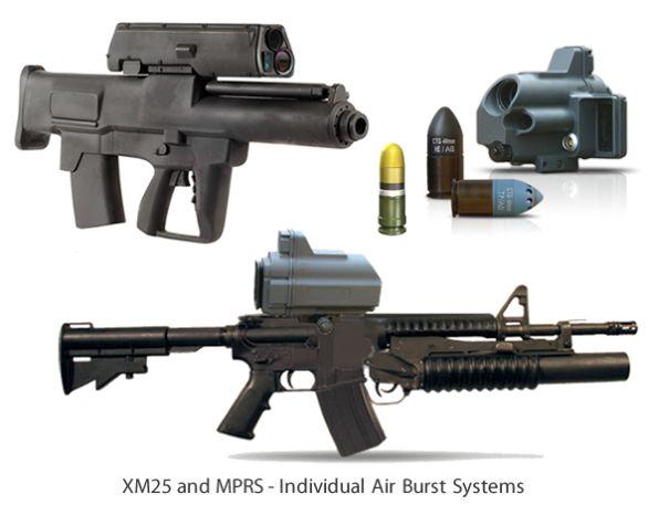 XM25 a MPRS