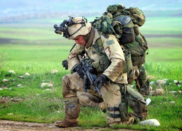 Foto: Ikonický obrázek války v Iráku, ilustrační foto / US Army