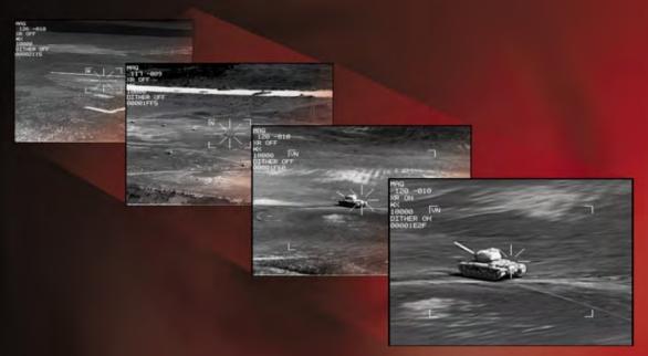Foto: Čtyři zorná pole umožňují různý pohled na bojiště; ilustrační foto / Lockheed Martin