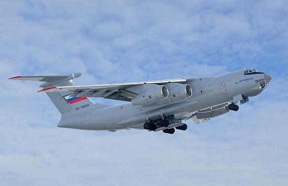 Foto: Platformou pro ruský AWACS se stane nový víceúčelový dopravní letoun Iljušin Il-76MD-90A. / Iljušin