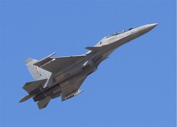 Foto: Su-30MKI indického letectva. / Public Domain