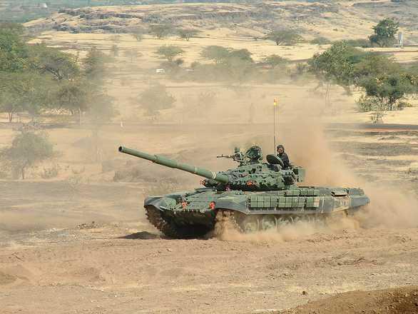 Foto: Indický tank