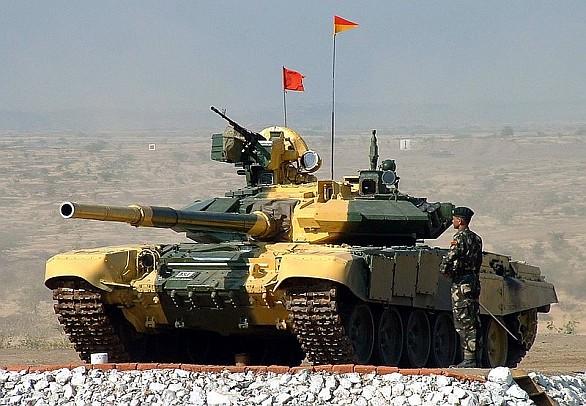 Indický tank T-90
