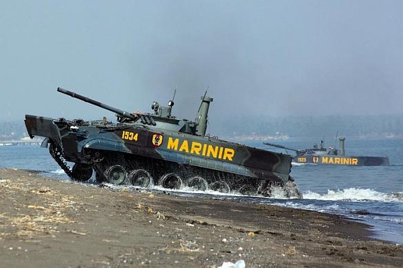 Bojová vozidla pěchoty BMP-3F