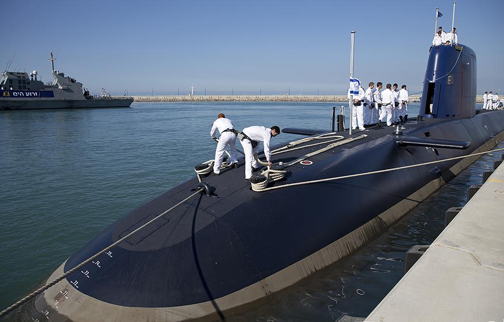 Foto: Izraelská ponorka Rahav / IDF