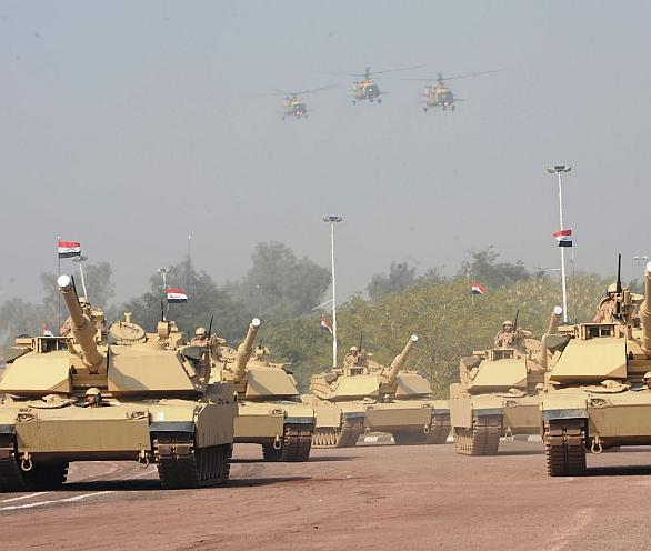Foto: Irácké tanky M1A1 Abrams. / Public Domain