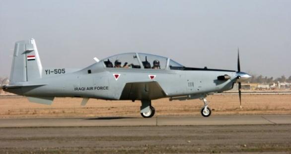 irácké T-6A
