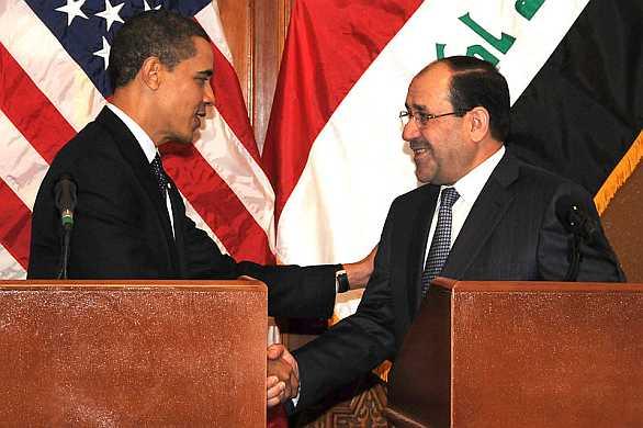 Obama Maliki