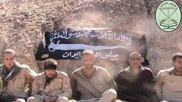 Zajatí íránští vojáci