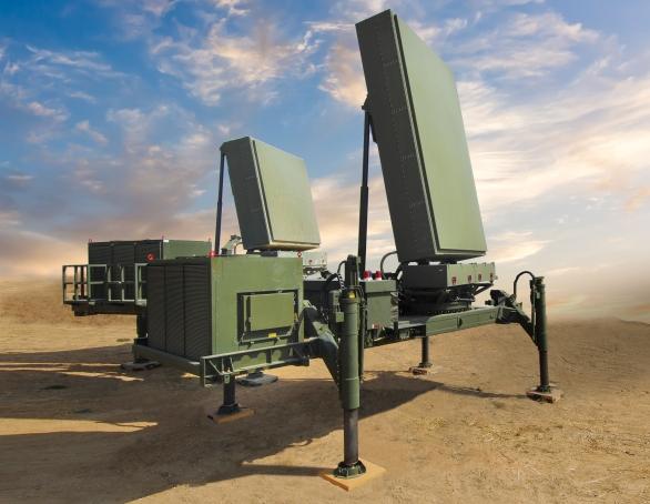 Foto: ELM 2084 MMR (Multi-Mission Radar); větší foto / Elbit Systems