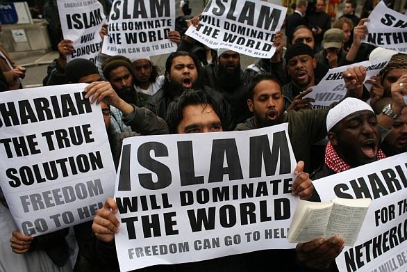 Foto: Demonstrace na podporu Islámu; ilustrační foto / Reuters