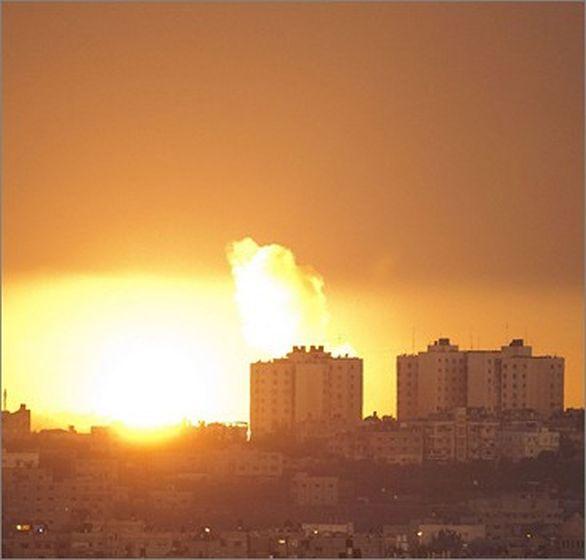 izraelský útok Gaza