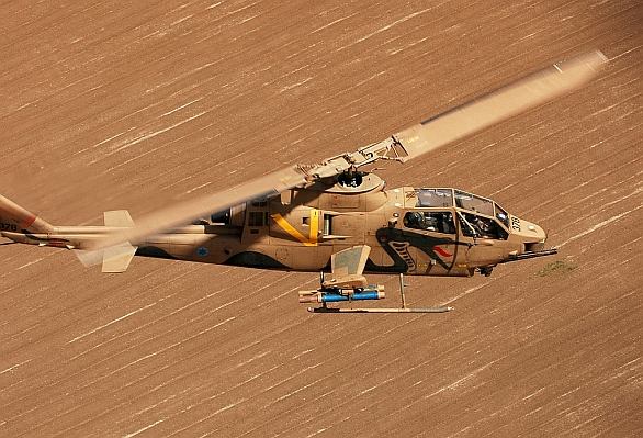 Foto: Izraelská Cobra. / Israel Air force