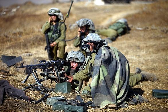 Foto: Izraelští vojáci z brigády Golany; ilustrační foto / IDF, CC BY-SA 3.0
