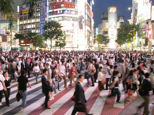 Foto: Japonsko má přísnou imigrační politiku. Japonská společnost je proto velmi homogenní. / Bantosh, CC BY 2.5
