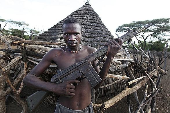 Muž z Jižního Súdánu
