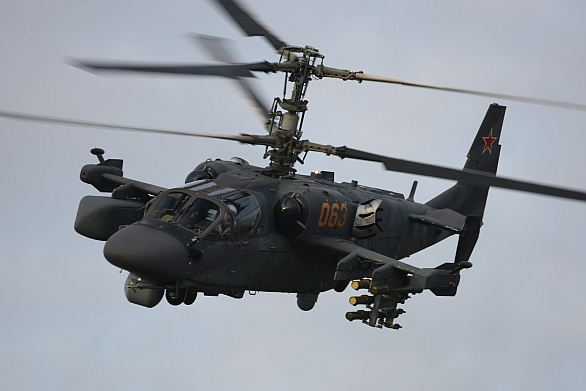 Foto: Kamov Ka-52; větší foto / Kamov