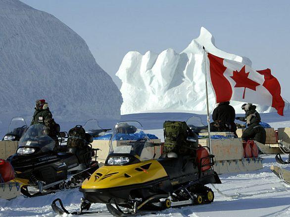 Foto: Kanadští vojáci operující za severním polárním kruhem / Canadian Forces