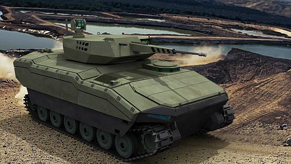 Foto: Turecké bojové vozidlo pěchoty Kaplan-20; větší foto / FNSS Defence Systems
